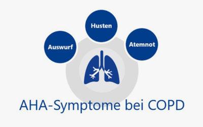 COPD-Symptome: Die Anzeichen erkennen