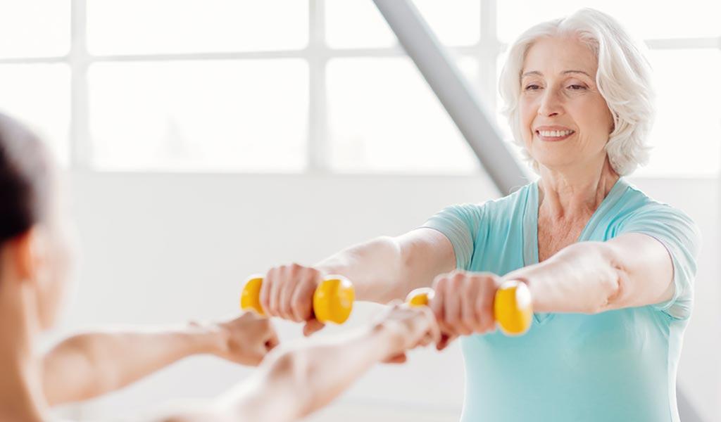 Regelmäßige Belastung verbessert die Lungenfunktion