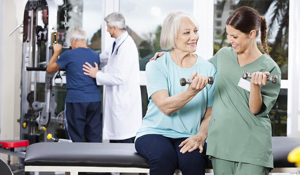 Rehabilitation bei COPD