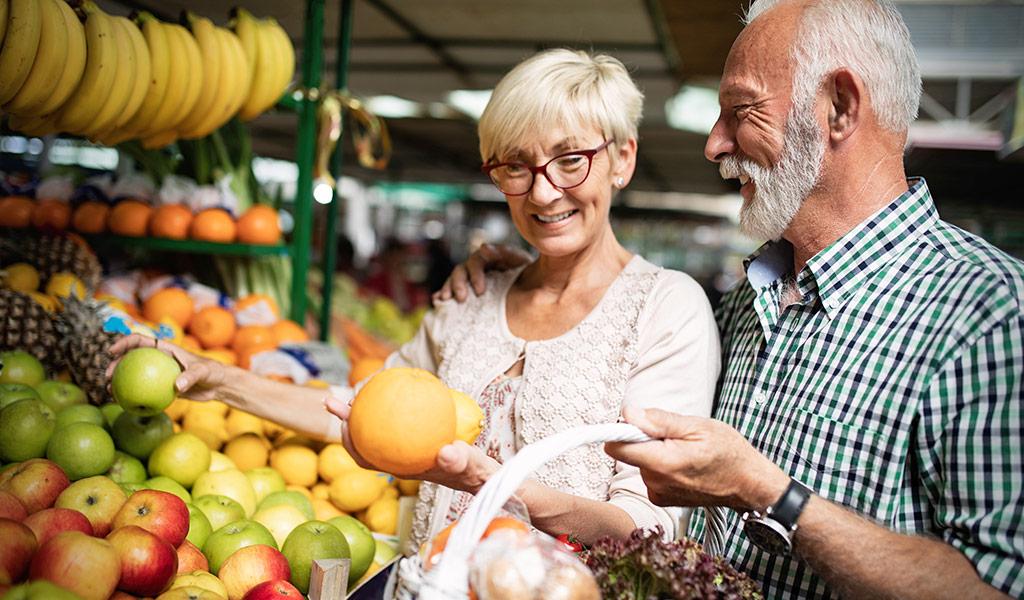 Gesunde Ernährung bei COPD