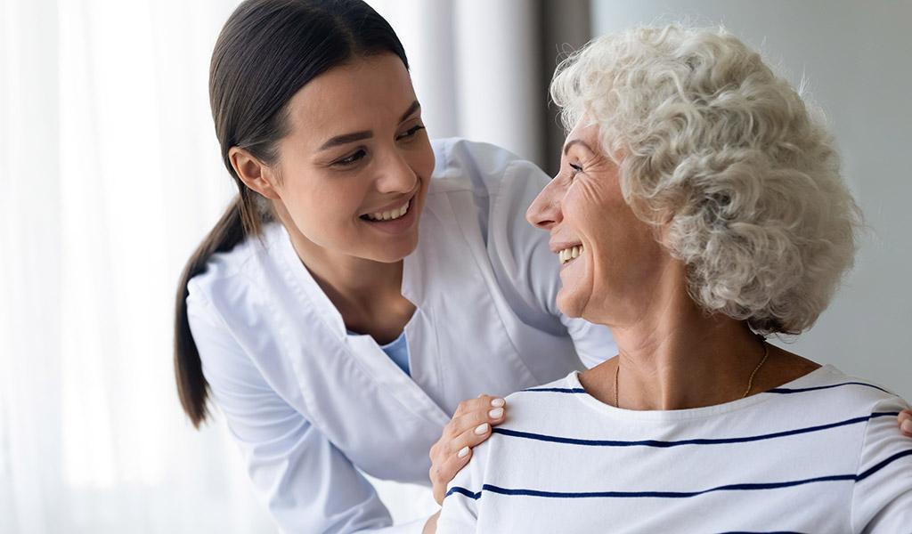 Pflegedienst für COPD-Patienten