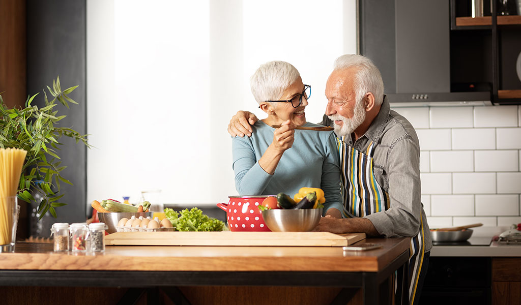 Richtige Ernährung bei COPD