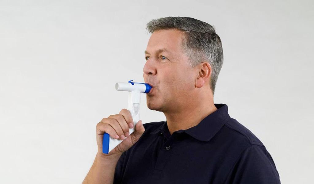Atemtherapiegeräte für Lungenpatienten