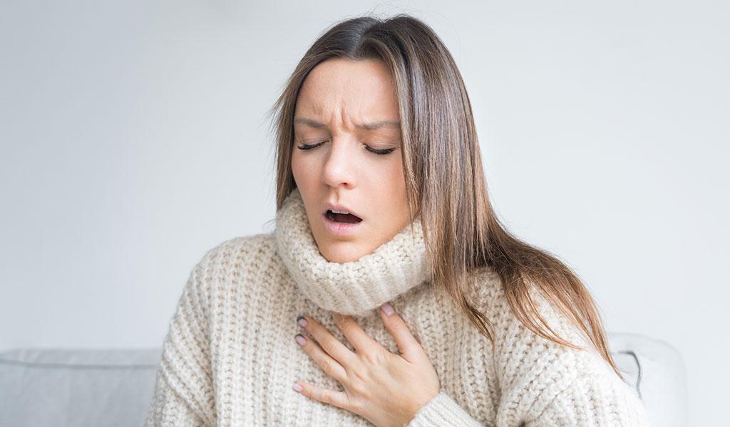 Die sechs besten Tipps gegen Atemnot