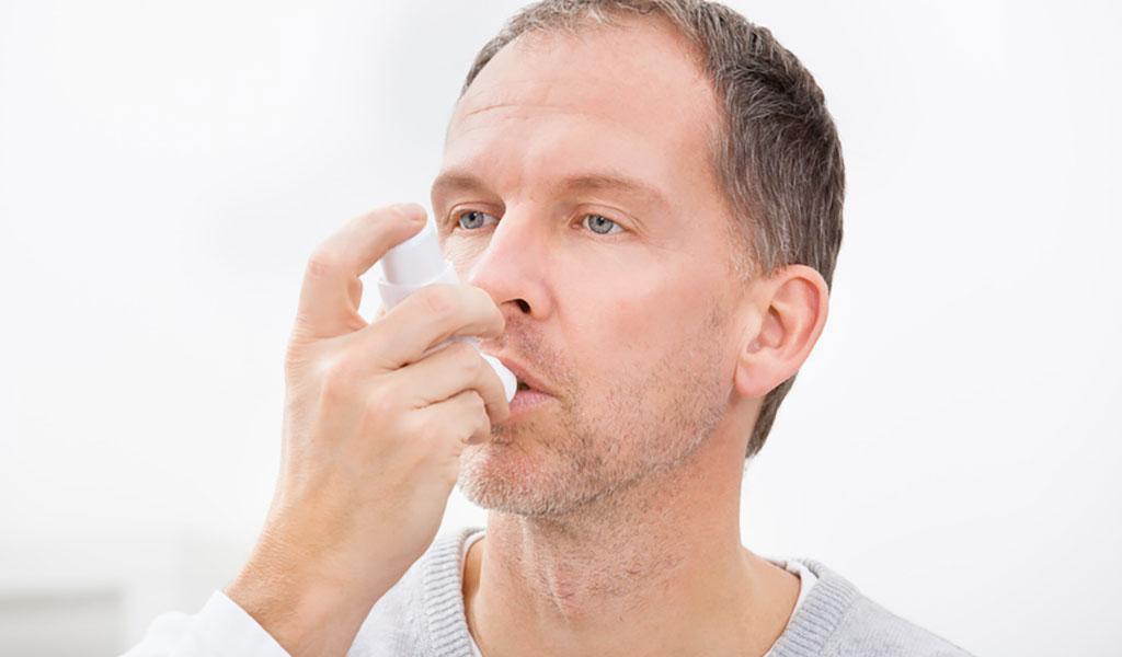 Inhalation mit einem Dosieraerosol