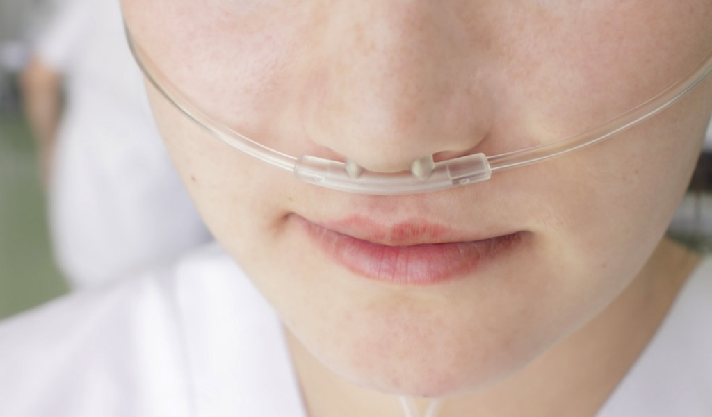 Sauerstoffbrillen für Sauerstoffpatienten
